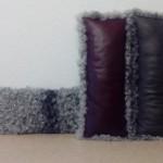 Lieblingskissen 3 roed,grau